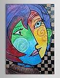 XM Handgemaltes Ölgemälde Museum Masters Paintings Pablo Picasso Kuss Gemälde