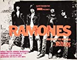 THE RAMONES 1977 MANCHESTER SIGNED REPRODUCTION CONCERT POSTER 16X12