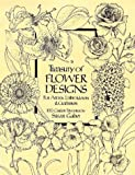 Treasury of Flower Designs for Artists, Embroiderers and Craftsmen (Dover Pictorial Archive Series)