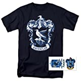 Popfunk Harry Potter Ravenclaw Logo Hogwarts T Shirt (Medium) (Color: Ravenclaw, Navy, Tamaño: Medium)