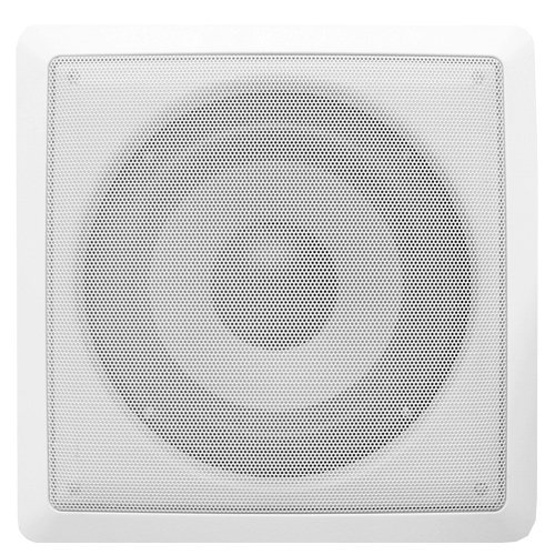 Acoustic Audio Cs-Iw8Sub In-Wall/Ceiling 250 Watt 8-Inch Home Theater Passive Subwoofer, White