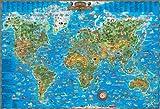 子供の世界地図 日本語版