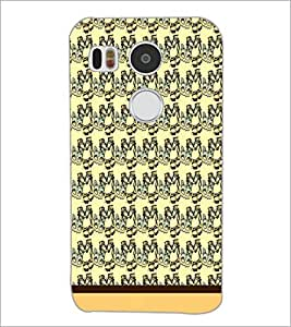 PrintDhaba Pattern D-1739 Back Case Cover for LG NEXUS 5X (Multi-Coloured)