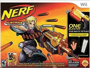 Nerf-N-Strike Bundle - Wii