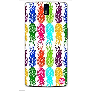 Designer One Plus One Case Cover Nutcase -Pineapples !