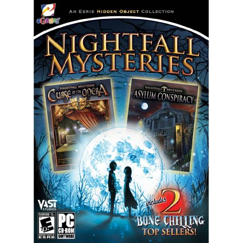 Nightfall Mysteries Asylum Conspiracy & Curse of the Opera Bonus Double Pack