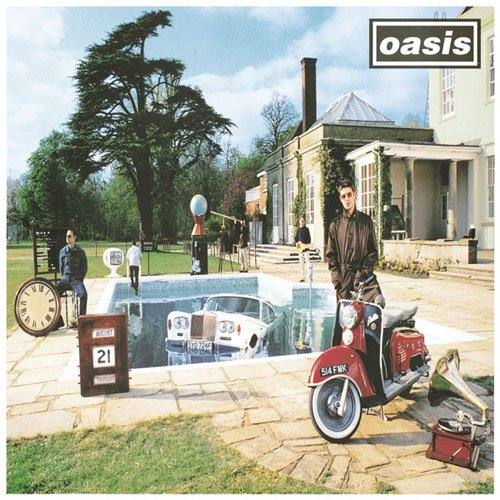 Original album cover of Be Here Now by Oasis