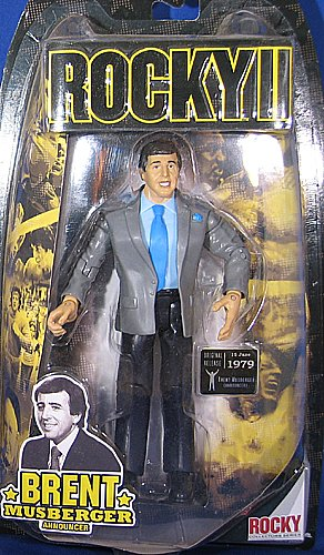 Buy Low Price Jakks Pacific BRENT MUSBERGER – ROCKY SERIES 2 ACTION FIGURE (B000MSZT3I)