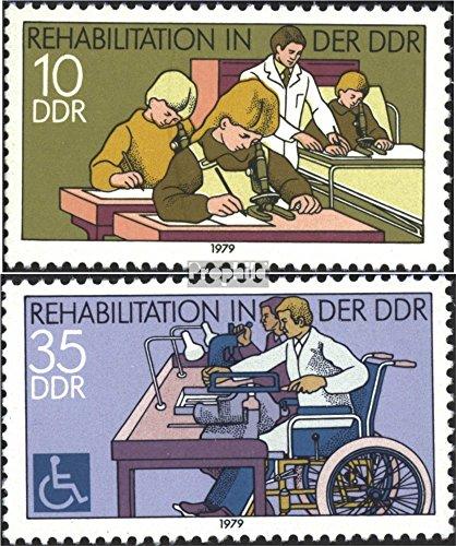 DDR 2431-2432 (kompl.Ausgabe) postfrisch 1979 Schwerbehinderte (Briefmarken für Sammler)