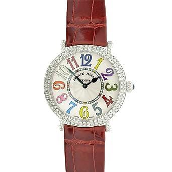Franck Muller STL Round Color Dreams Women's Watch 8038 QZ COL DRM D