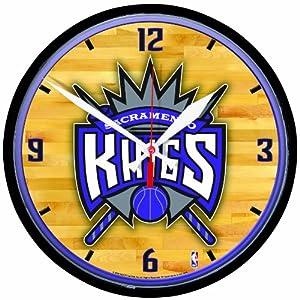 NBA Sacramento Kings Round Clock by WinCraft