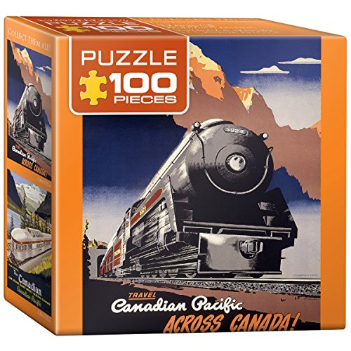 EuroGraphics Canadian Pacific - Travel CPR Mini Puzzle (100-Piece)