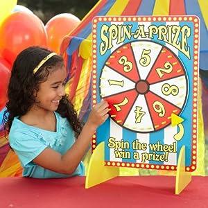 Wooden Carnival Spinner Game