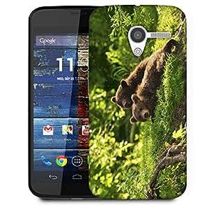 Snoogg Babies Bear Designer Protective Phone Back Case Cover For Moto X / Motorola X