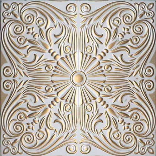 peinte-a-la-main-dalles-de-plafond-en-polystyrene-retro-76-blanc-gold-paquet-de-76-pcs-19-m2