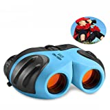 TOP Gift Kids Toys age 3-12, Compact Binocular Teen Boy Birthday Presents Gifts Toys for 3-12 Year Old Girls Boys Toys age 3-12 Gifts for 3-12 Year Old Boys Girls Blue TGUS8 (Color: blue4)