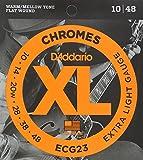 【国内正規品】D'Addario ダダリオ エレキギター弦 フラットワウンド Extra Light (10-48) ECG-23