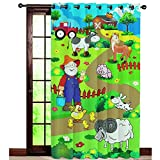 The Kids Decor Farm Theme Door Curtain