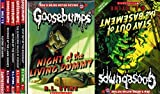 img - for Goosebumps Classic 10-Book Set: Night of the Living Dummy, The Haunted Mask, One Day at Horrorland, The Curse of the Mummy's Tomb, The Werewolf of Fever Swamp, The Scarecrow Walks at Midnight, Return of the Mummy, Revenge of the Lawn Gnomes, Vampire Breath, & Stay Out of the Basement. book / textbook / text book