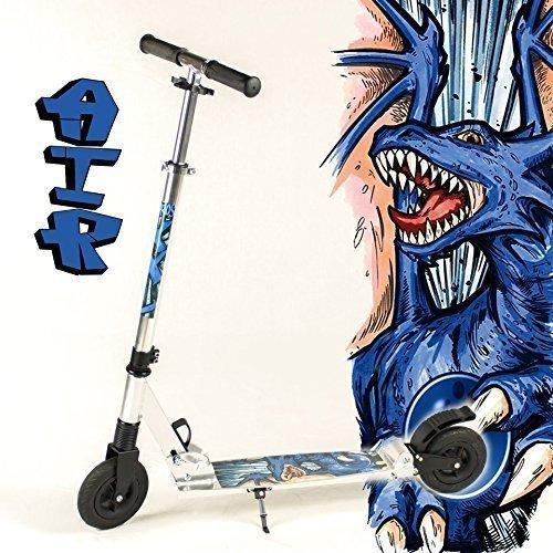 hepros-trottinette-xxl-air-vtt-modele-fully-silver-150-mm-roues-dragon-69-bar-bleu