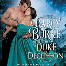 The Duke of Deception: The Untouchables, Book 3 | Livre audio Auteur(s) : Darcy Burke Narrateur(s) : Marian Hussey