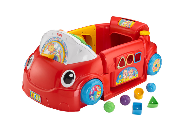 Car Seat Toy Fisher Price : Fisher price crawl around car activity toy for baby new in