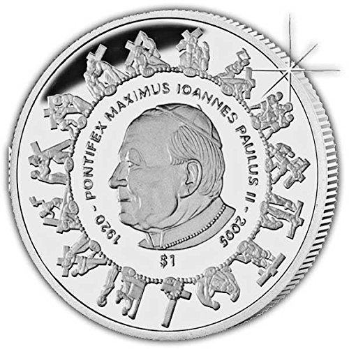 Sierra Leone 2005 Remembers His Holiness Pope John Paul II Coin (Pope John Paul Ii Coin compare prices)