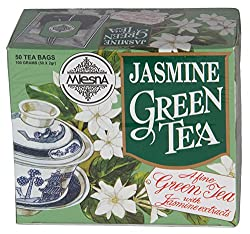 Mlesna Flavoured Green Tea, Jasmine, 100g