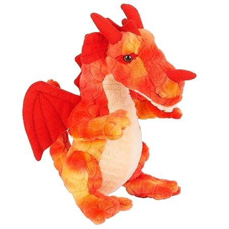 FAO Schwarz 8 inch Miniature Dragon - Red
