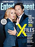 Entertainment Weekly~ July 3, 2015 ~First Look at the NEW X-Files!