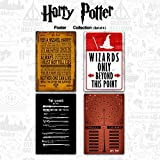 "Mc Sid Razz Official "" Harry Potter ""- The Definitive Poster 2 Collection - Combo Pack Of 4 ( Wizards Only + Wands + Spell + Quotes ) , Wall Decor - Home & Office Poster Print Art [ Frame Not Included ] , Licensed By Warner Bros, USA"