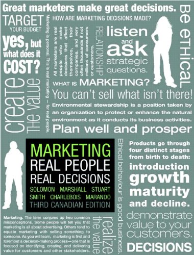Marketing: Real People, Real Decisions, Third Canadian Edition with MyMarketingLab