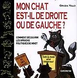 echange, troc Grazia Valci - Mon chat est-il de droite ou de gauche ? : Comment découvrir les opinions politiques de Minet