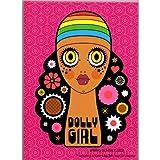 [ドーリーガールバイアナスイ]DOLLY GIRL BY ANNA SUI 【ノベルティ ハードカバーノート】/A5サイズ