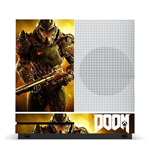 DOOM-4-Game-Skin-for-Xbox-One-S-Slim-Console-100-Satisfaction-Guarantee