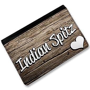 Amazon.com: RFID Passport Holder Indian Spitz, Dog Breed