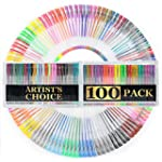 100 Gel Pens with Case (EXTRA LARGE S...