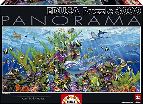 Educa 16020 - Puzzle - Korallenriff, Panorama,