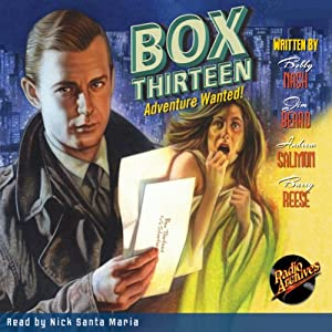Box Thirteen: Adventure Wanted | [Bobby Nash, Jim Bear, Andrew Salmon, Barry Reese]