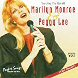 Sing The Hits Of Marilyn Monroe & Peggy Lee (Karaoke CDG)