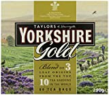 Yorkshire Gold Tea 80 Tea Bags (Pack of 5, total of 400)