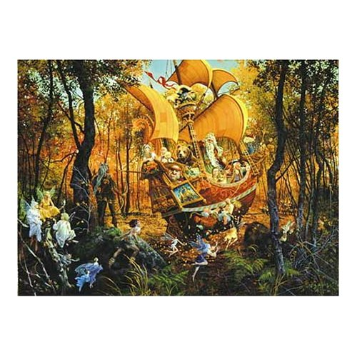 Cheap Fun Sunsout Flight of the Fablemaker 1500 Piece Jigsaw Puzzle (B00064SA2K)