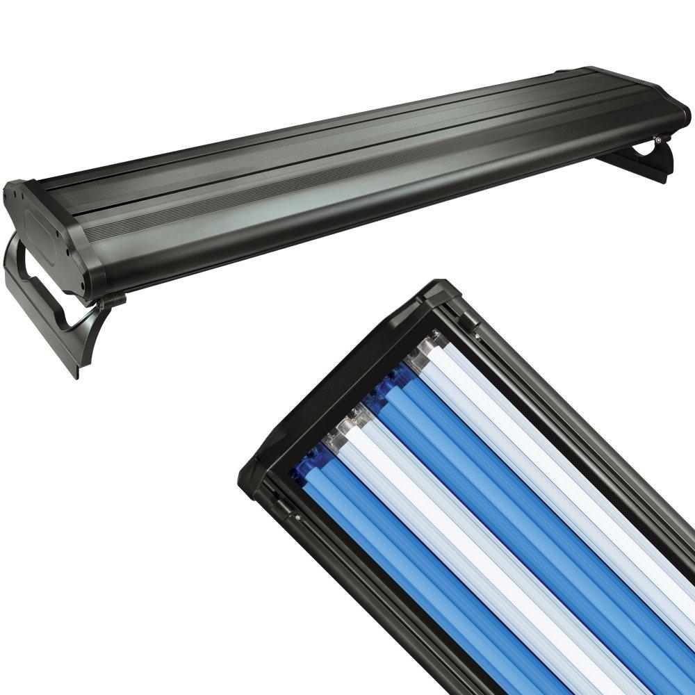 48 Light Fixture: WAVE-POINT 48-INCH 216-WATT 4 BULB T5 HIGH OUTPUT AQUARIUM