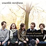 Tastes of Europe - Telemann Trios and Quartets (Hybrid SACD - plays on all CD players) Ensemble Meridiana