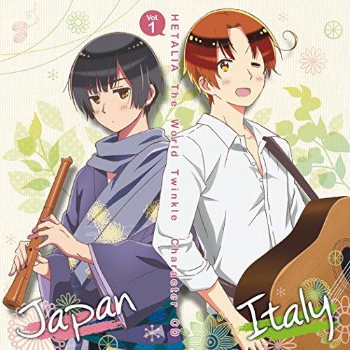 アニメ「 ヘタリア The World Twinkle 」 キャラクターCD Vol.1 イタリア & 日本