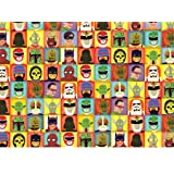 Heroes and Villains Rolled Gift Wrap Paper
