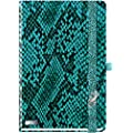 Lanybook A5 Hardcover Notebook, Snake, Turquoise (7700800)