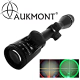 Aukmont Pro 4-16x40AOEG R&G Optical Telescopic Tactical Rifle Scope Sight + 2 Mounts
