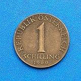 Austria 1 Schilling 1960 Coin #1
