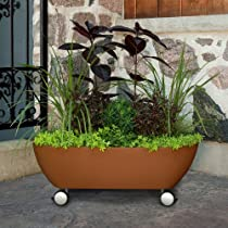 Mobile Garden Container on Wheels